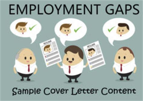 Write employment gap cover letter